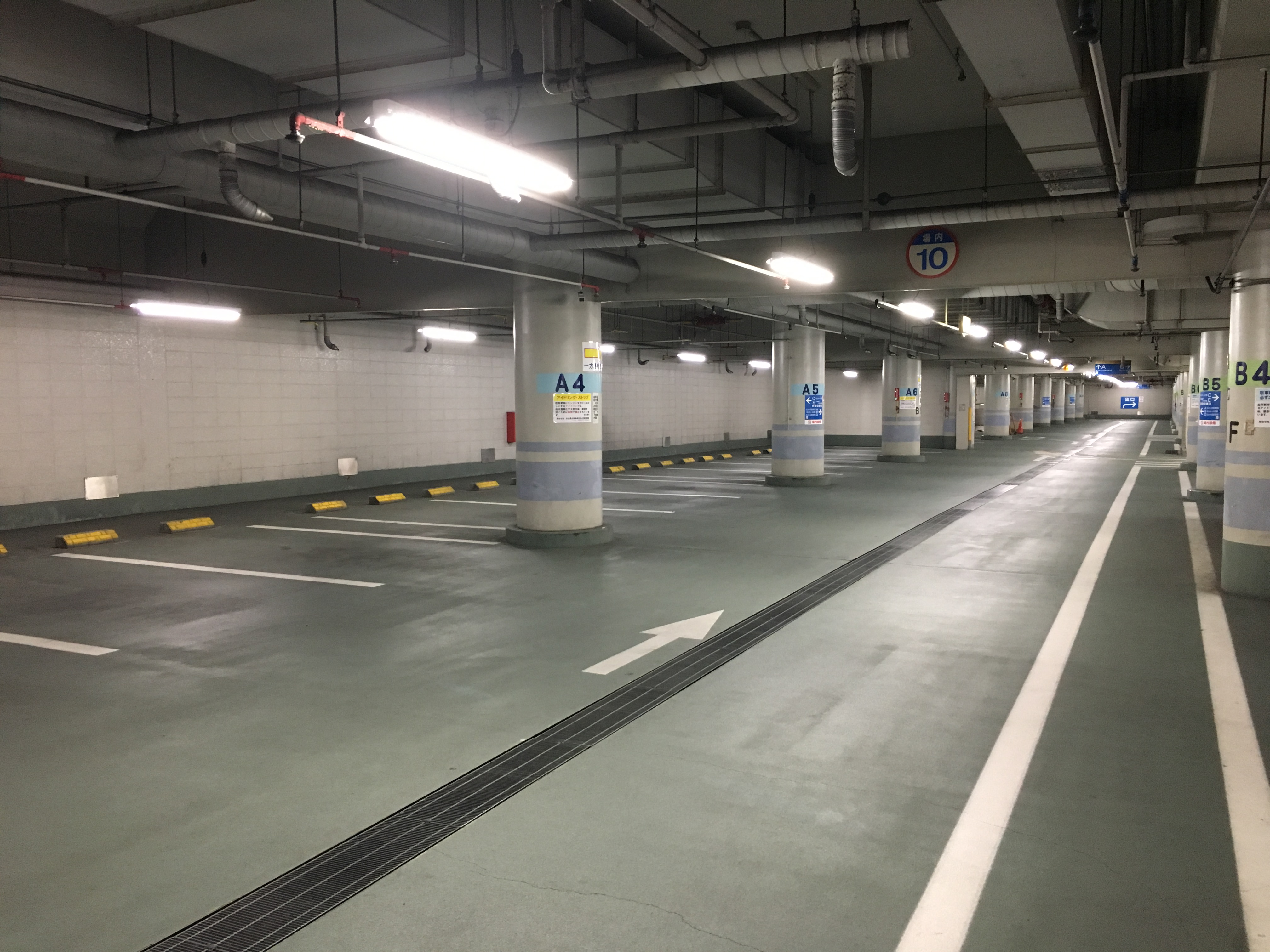 fukiagehall-parking