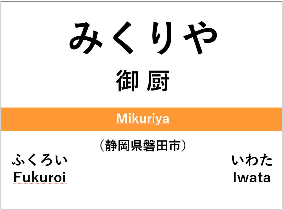 mikuriya-station